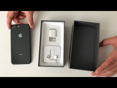 iPhone 8 Plus Unboxing (space gray)