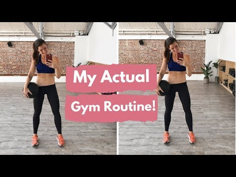 FULL LEGS & BOOTY WORKOUT | MY ACTUAL GYM ROUTINE!