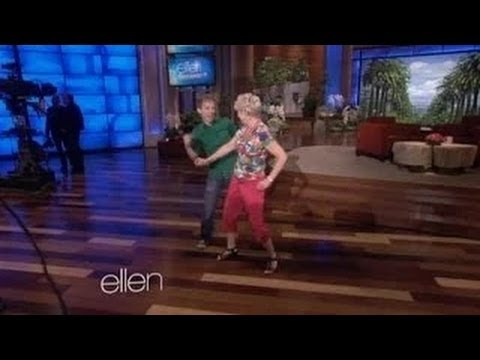 Ellen's Dancer of the Day on Ellen show