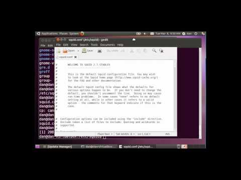Install & Configure Squid Proxy Server in Ubuntu - 1/3 Beginner