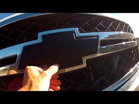 Chevy Emblem Vinyl Wrap!