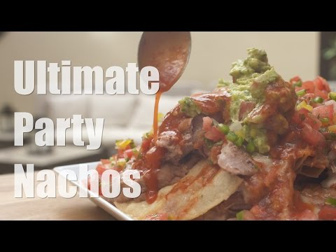 How to Make Tortilla Chips - Ultimate Party Nachos