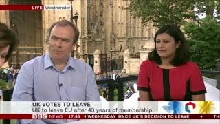 Peter Hitchens so happy about Brexit