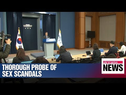 Xxx Mp4 President Moon Calls For Thorough Investigation Of Sex Scandals 3gp Sex