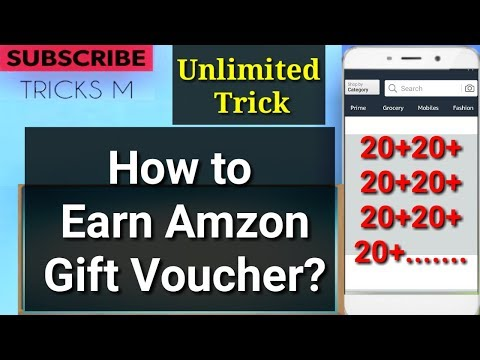 [June 2018 ]how to earn free Amazon gift vouchers online?