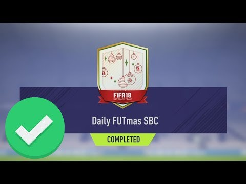 DAILY FUTMAS SBC DAY 5 (WEDNESDAY) COMPLETED - CHEAPEST SBC EVER | FIFA 18