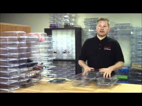 Clear Plastic Closet Organizer System - NeatContainers