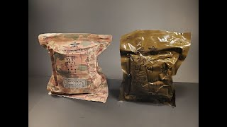 2015 & 1993 South Korea RoK Field Rations MRE Review Meal Ready to Eat Taste Testing