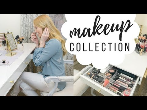 Makeup Collection and Storage | 2018