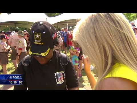 Thousands 'Carry the Load' in Dallas for veterans charities