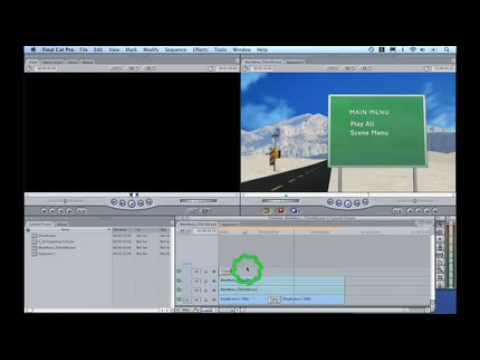 DVD Studio Pro- Motion Menus