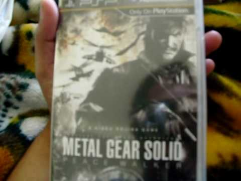 Unboxing Metal Gear Solid: Peace Walker Limited Edition