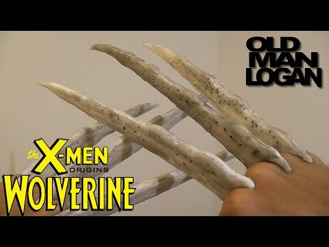 How to Make a Wolverine Claws\Bone claws Logan
