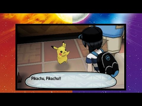 Pokemon Sonne & Mond (Demo) Kleines Pikachu hat Geburtstag :: Happy Birthday Pikachica