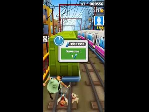 subway surfer unlimited coins keys and unlocked characters