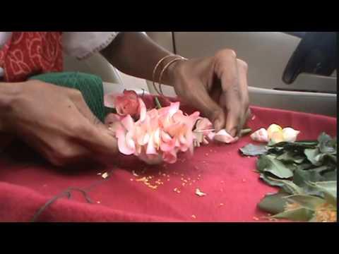 Fresh flower garland