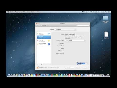 Tutorial - Apple OS X: Configuring Proxy Settings