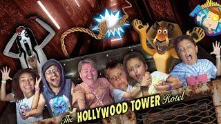The ELEVATOR DROPPED!! FUNnel V Fam DISNEY WORLD & UNIVERSAL STUDIOS Vlog