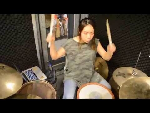 Starship : We Built This City  - drum cover