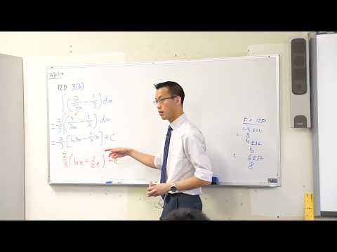 Integrals & Logarithmic Functions - Why does the solution look different?
