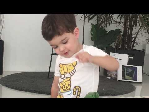 BABY TATTOO Classic Tiger Diaper bodysuit (B017)