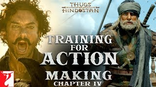 Training for Action | Making of Thugs Of Hindostan | Chapter 4 | Amitabh Bachchan | Aamir Khan