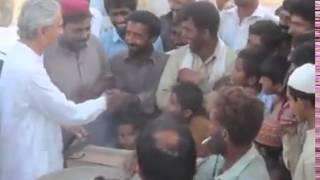 Jahangir tareen at lodhran (amazing help)