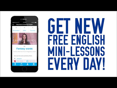 Get English Mini-Lessons Delivered To You Everyday!