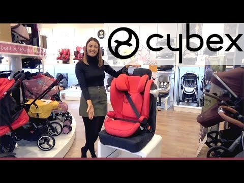 Cybex Solution M Fix Group 2 & 3 Car Seat - Store Demo - Direct2Mum