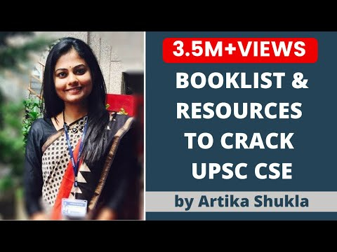Booklist for UPSC CSE/ IAS Preparation 2018 by UPSC Topper AIR 4 Artika Shukla