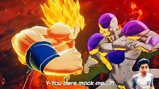 NEW DRAGON BALL Z: KAKAROT E3 GAMEPLAY TRAILER REACTIONS! Dragon Ball Z: Project Z E3 2019 Trailer