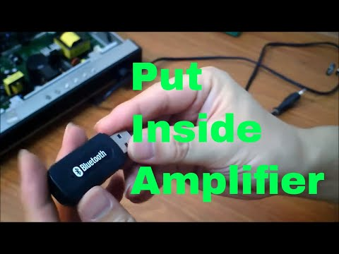DIY add bluetooth module to your audio systems and turn it to wireless