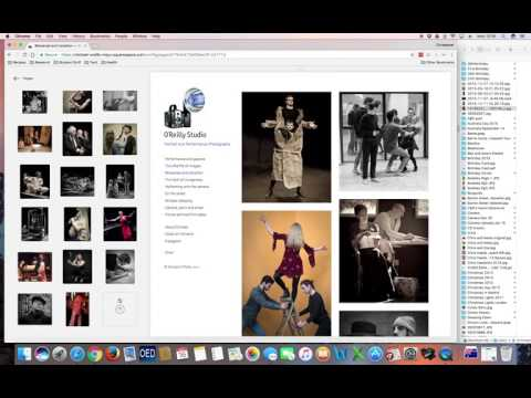 Add and removing images to squarespace gallery
