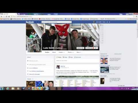 The New Facebook Profile Layout 2013