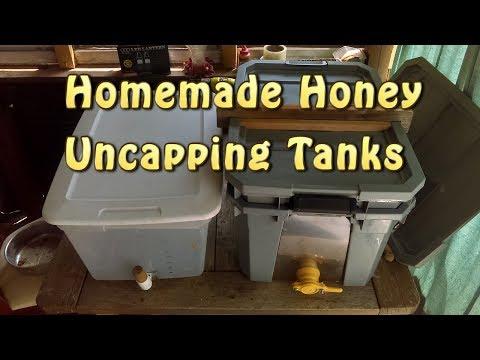Homemade Honey Uncapping Tank(s)