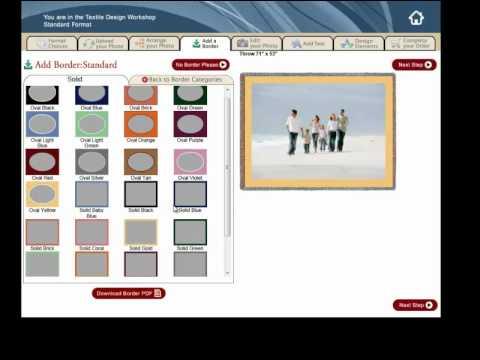 Custom Photo Blankets: Photoweavers Full Demo
