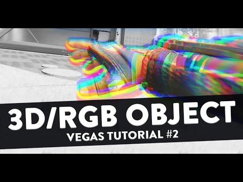 How to Make 3D / RGB Effect - Sony Vegas Tutorial #2