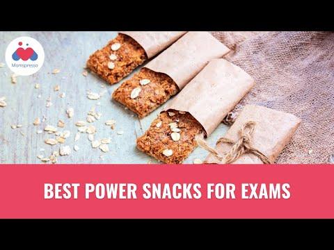 10 Power Snacks For Exam