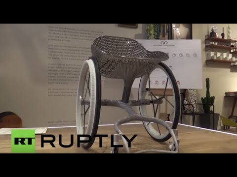 UK: World's first 3D-printed wheelchair unveiled in London