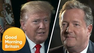World Exclusive: Trump on Meeting the Royal Family   Good Morning Britain
