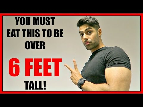 What To Eat To Grow TALLER & Increase Your HEIGHT - GUARANTEED RESULTS!!
