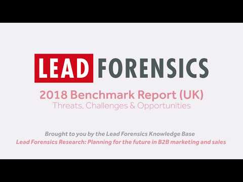 Lead Forensics - Business Challenges & Opportunities in EMEA 2018