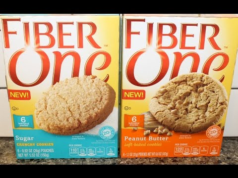 Fiber One: Sugar Cookie & Peanut Butter Cookie Review
