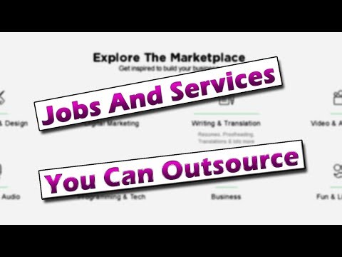 Jobs And Services That Can Be Outsourced Easily