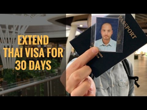 How to Extend Thai Tourist Visa for 30 days | Chiang Mai