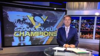 news reporter loses his cool pittsburgh penguins kdka cbs bob allen pittsburgh penguins win
