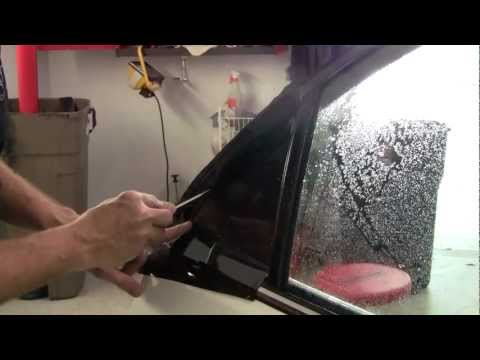 How to Tint a Quarter Window