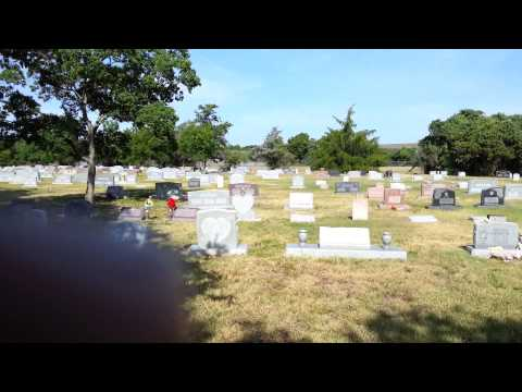 College Station Cemetery in Brazos Co. TX Section A Up Date