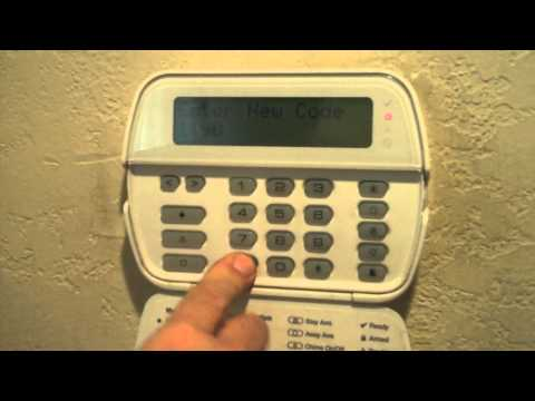 How to Add and Delete User Codes for DSC Power Series Alarm System
