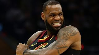 LeBron 20 Pts in 1st QTR! 46 Total Cavs Tie Series! 2018 NBA Playoffs